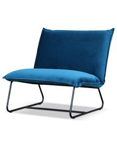 fauteuil blauw