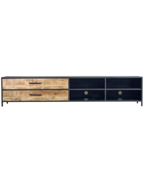 Industrieel TV-meubel Block