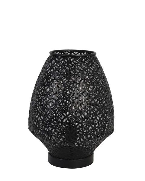 Tafellamp Indore mat zwart