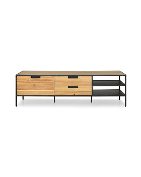 Moderne TV-Meubel Fitchburg Naturel 160cm