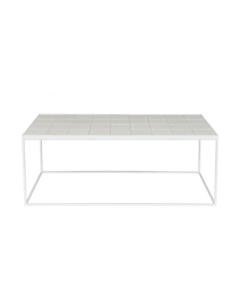 Zuiver Salontafel Glazed Wit