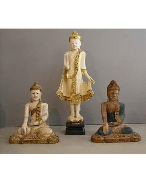 Buddha Sitting Blue Thailand