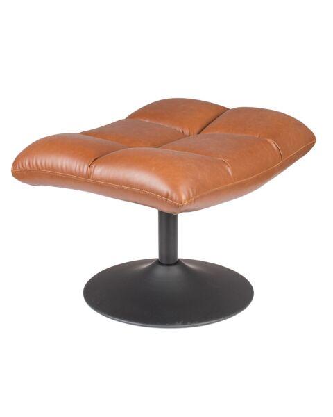 hocker vintage brown