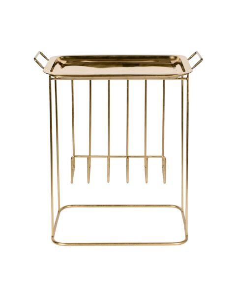 dutchbone gouden bijzettafel