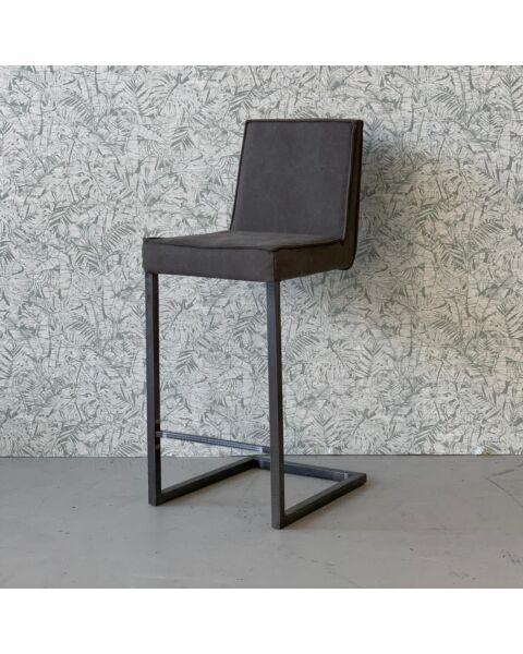 Moderne barkruk grijs