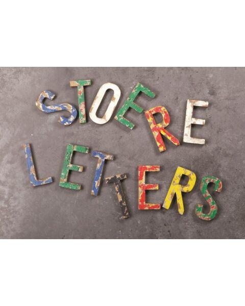 Vintage Letters A,B,C