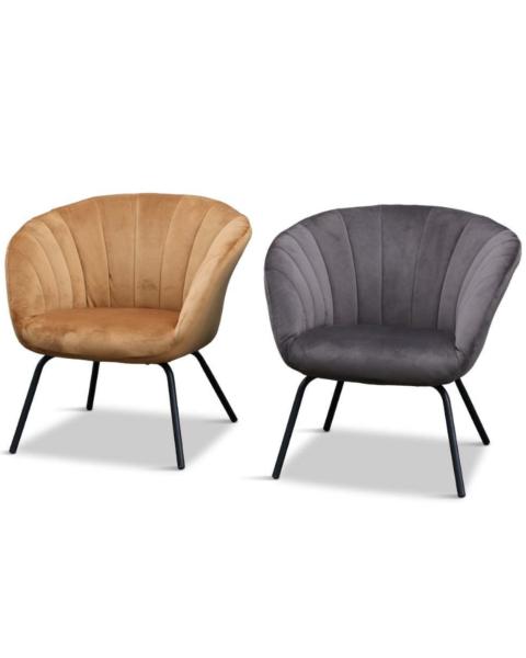 Velours fauteuil Glenn brown