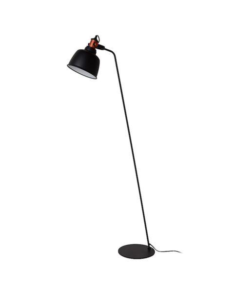 Scandinavische Vloerlamp Tjoll Zwart