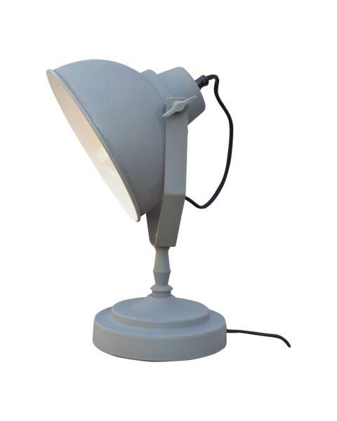 Industriële Tafellamp Urban Vintage Grey