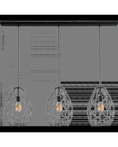 drielichts hanglamp