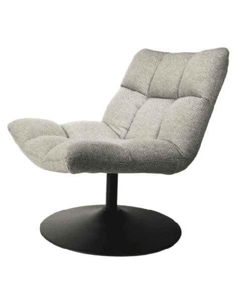 Draaifauteuil Lounge Chair Bar grijs