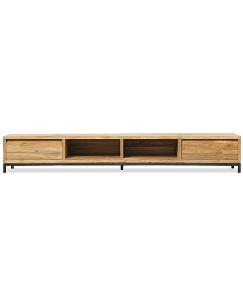 Teak TV-meubel Element 240cm