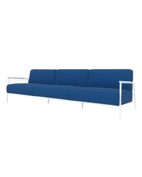 studio henk 3.5 zits bank co lounge blauw