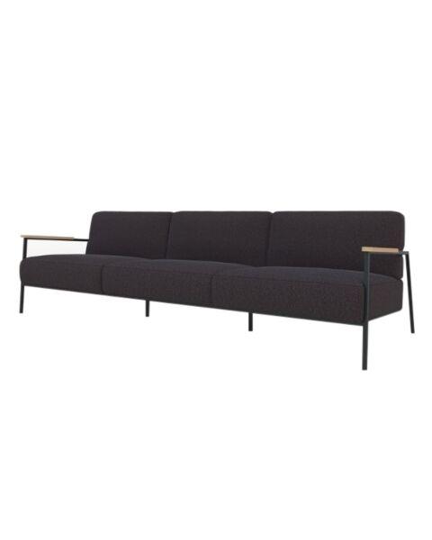 studio henk 3.5 zits bank co lounge zwart