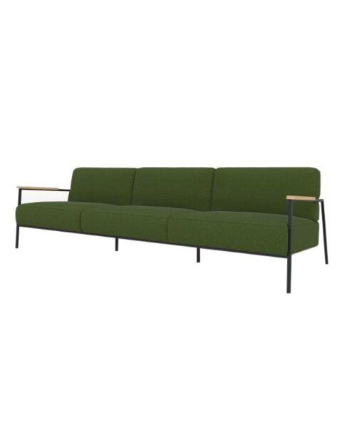 studio henk 3.5 zits bank co lounge groen