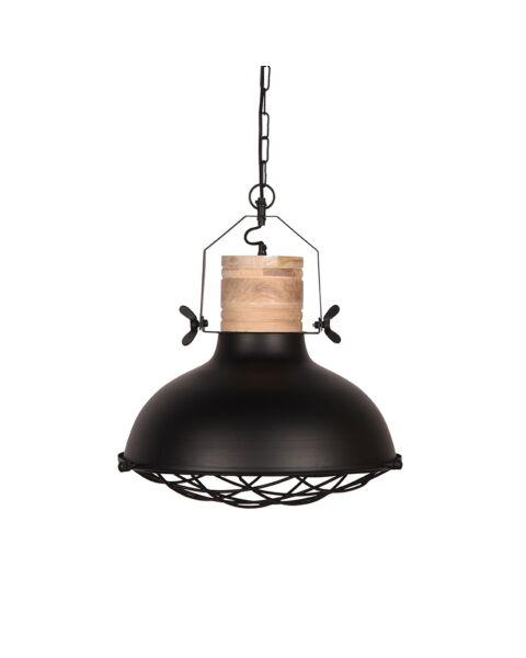 LABEL51 Hanglamp Grid Zwart Metaal 34 cm