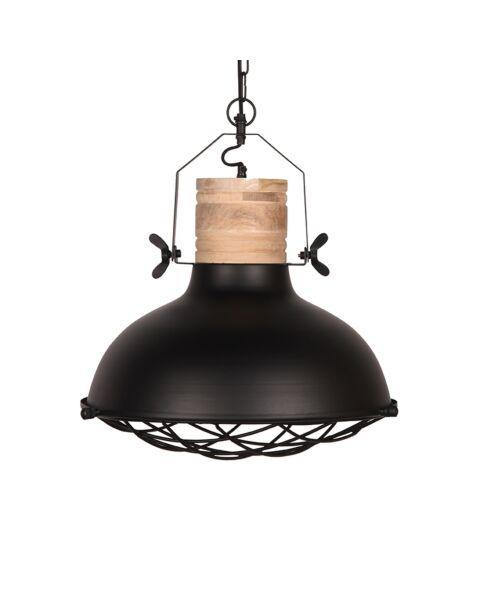 LABEL51 Hanglamp Grid Zwart Metaal 52 cm