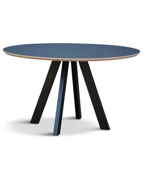 Design Tafel Rond Zwart Sumi