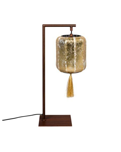 dutchbone tafellamp suoni goud