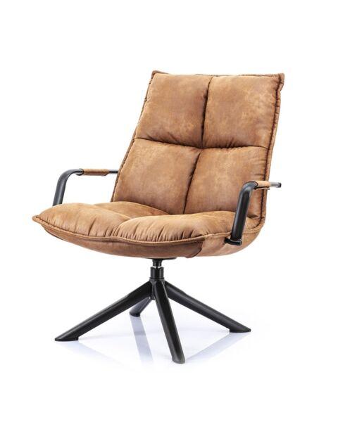 eleonora mitchell fauteuil cognac