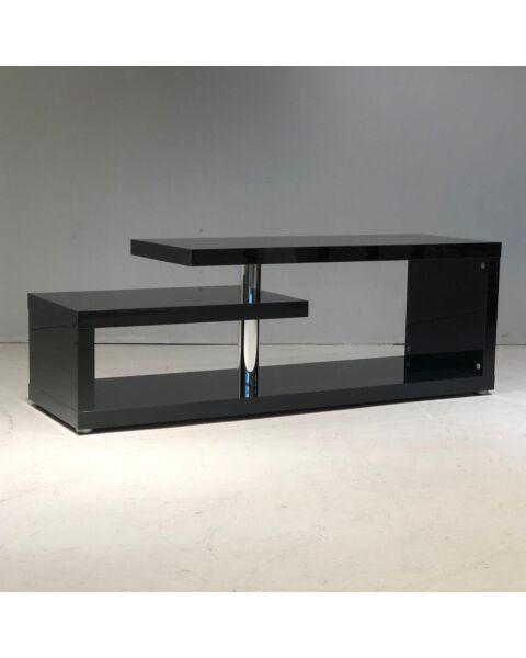 Moderne Tafel Hoogglans Zwart