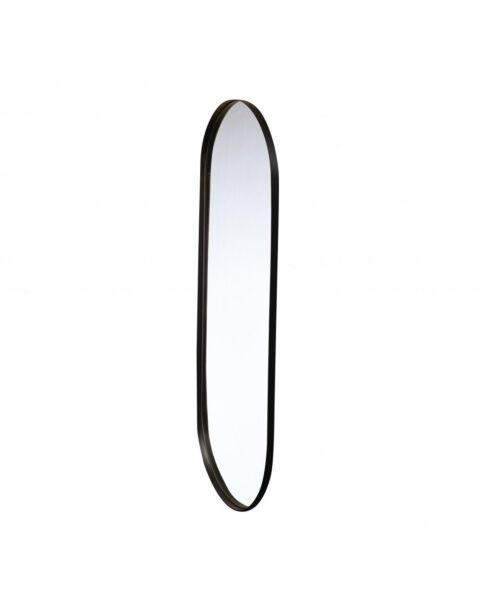 Bodilson Spiegel Oval Zwart