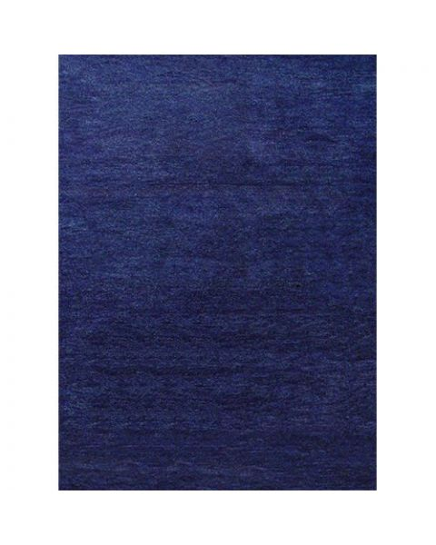 Ghabbeh Plain Dark Blue India Tapijt