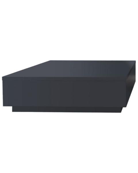 Salontafel Blok Mat Zwart 100cm
