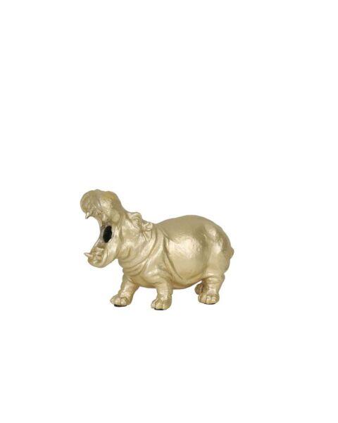 IN.HOUSE Tafellamp nijlpaard geel