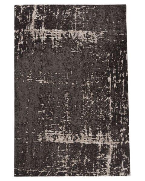 Vloerkleed Priso zwart 200x290cm