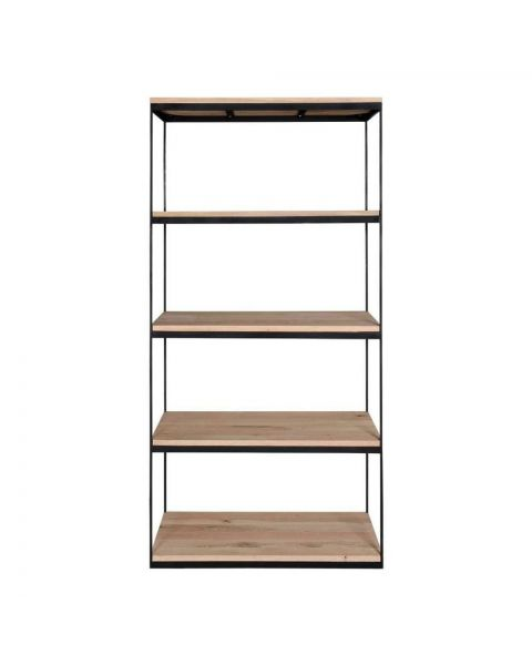 Scandinavian Bookcase Troy Single