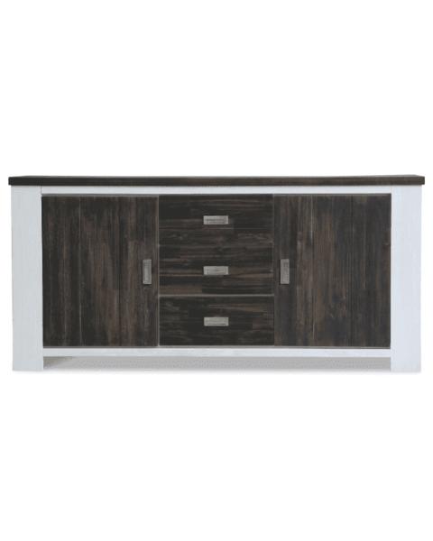 Modern dressoir hoog massief hout Springfield