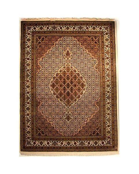 Tabriz India Wol Met Zijde