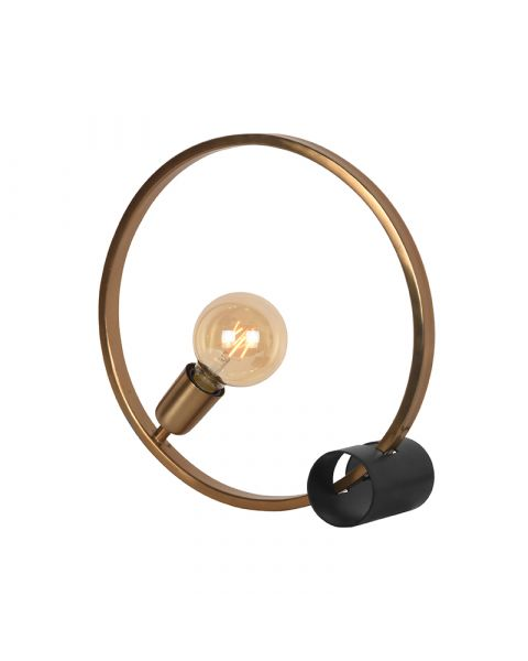 LABEL51 Tafellamp Ring Goud Metaal