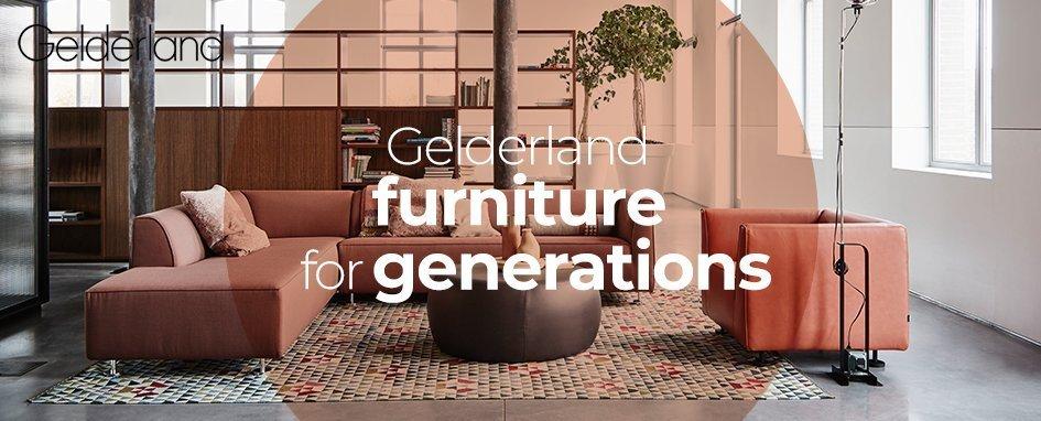 Gelderland 5770 Fauteuil Design Jan Des Bouvrie.Gelderland Merken